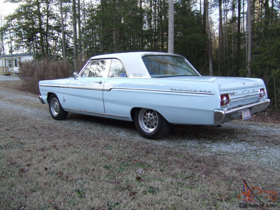 1965 ford fairlane deluxe cope 289 k code one of six