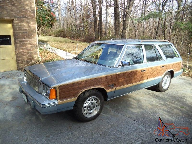 Vintage 1981 Plymouth Reliant Sw Very Nice Chrysler K Car Line