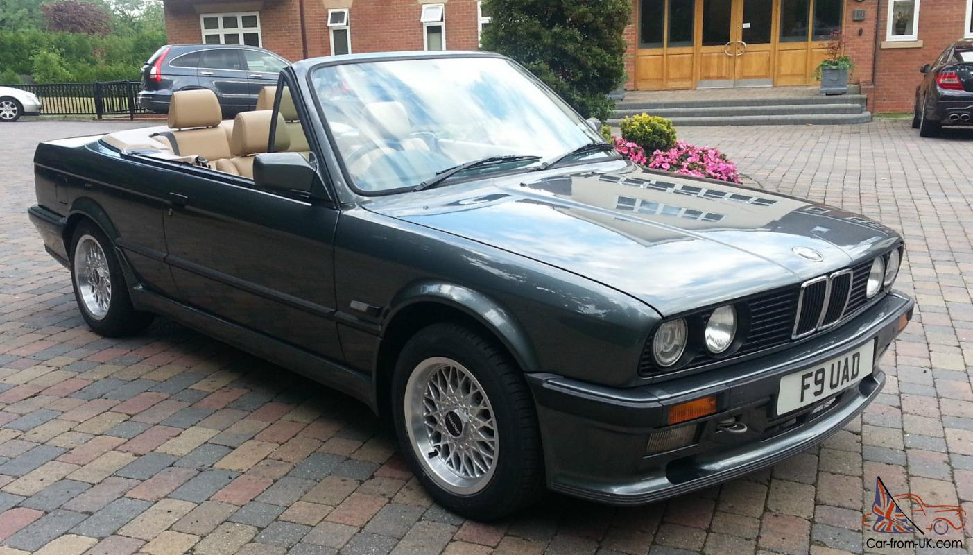 bmw e30 325 convertible dolphin grey 1989 manual brand new. Black Bedroom Furniture Sets. Home Design Ideas