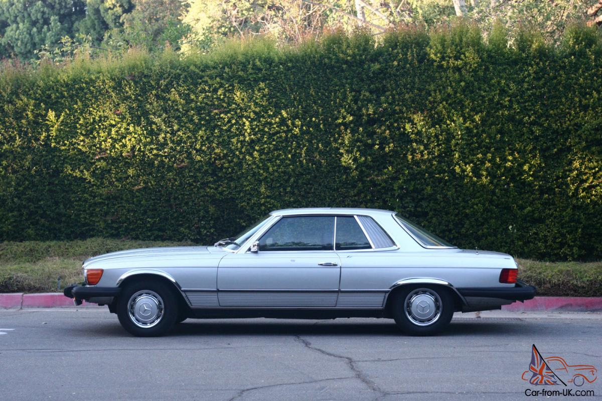 Low mileage 1975 mercedes benz 450slc for Mercedes benz mileage