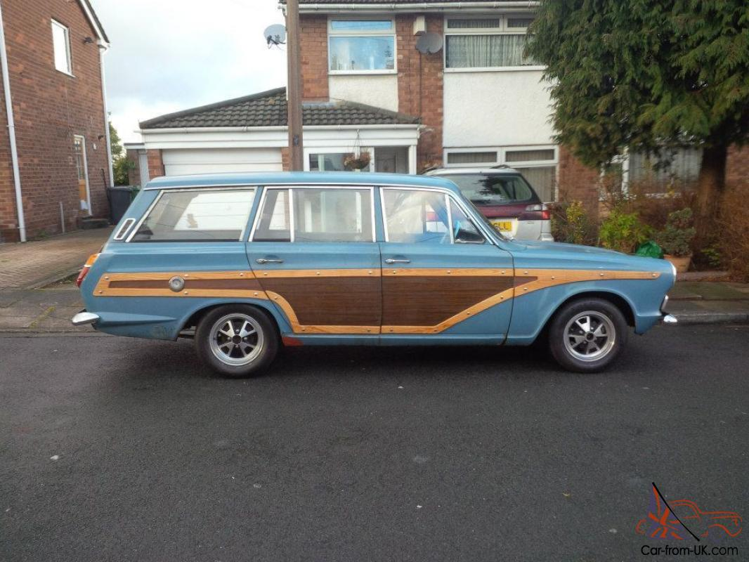 College Station Ford >> MK 1 Cortina Woody Estate 1966 Airflow