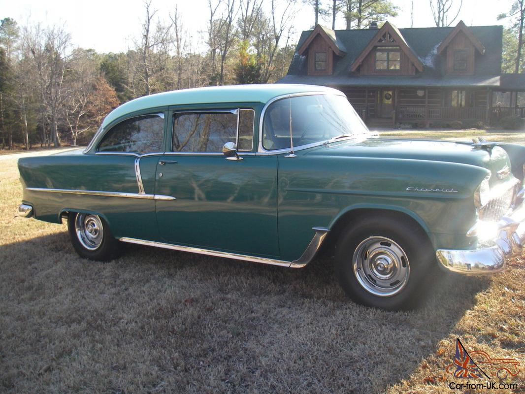 1955 Chevy 2 Door Post 31000 Actual Miles On Body