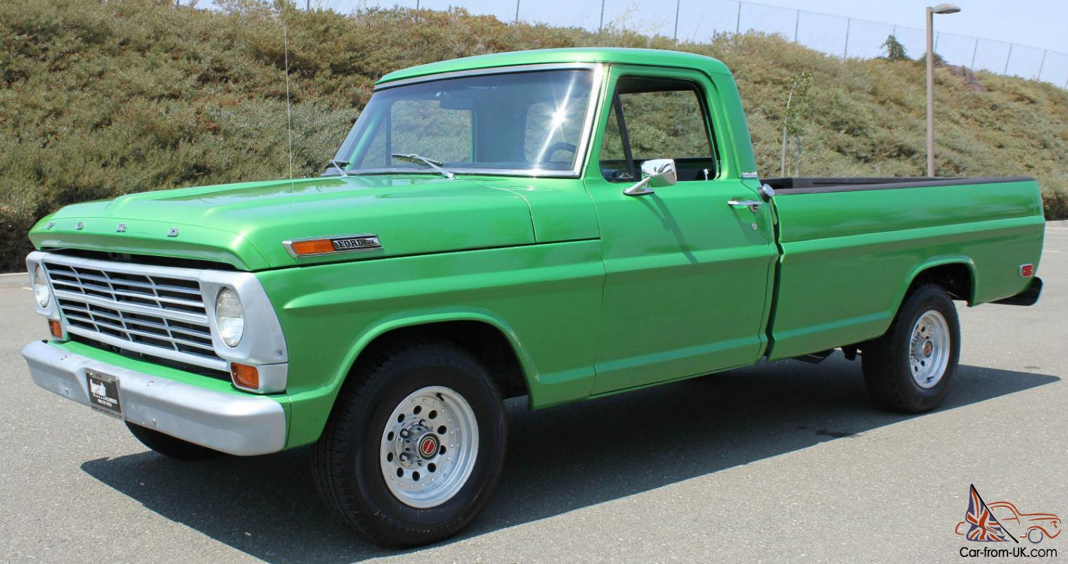 1969 FORD F 100 ...1969 Ford F100 360 Specs