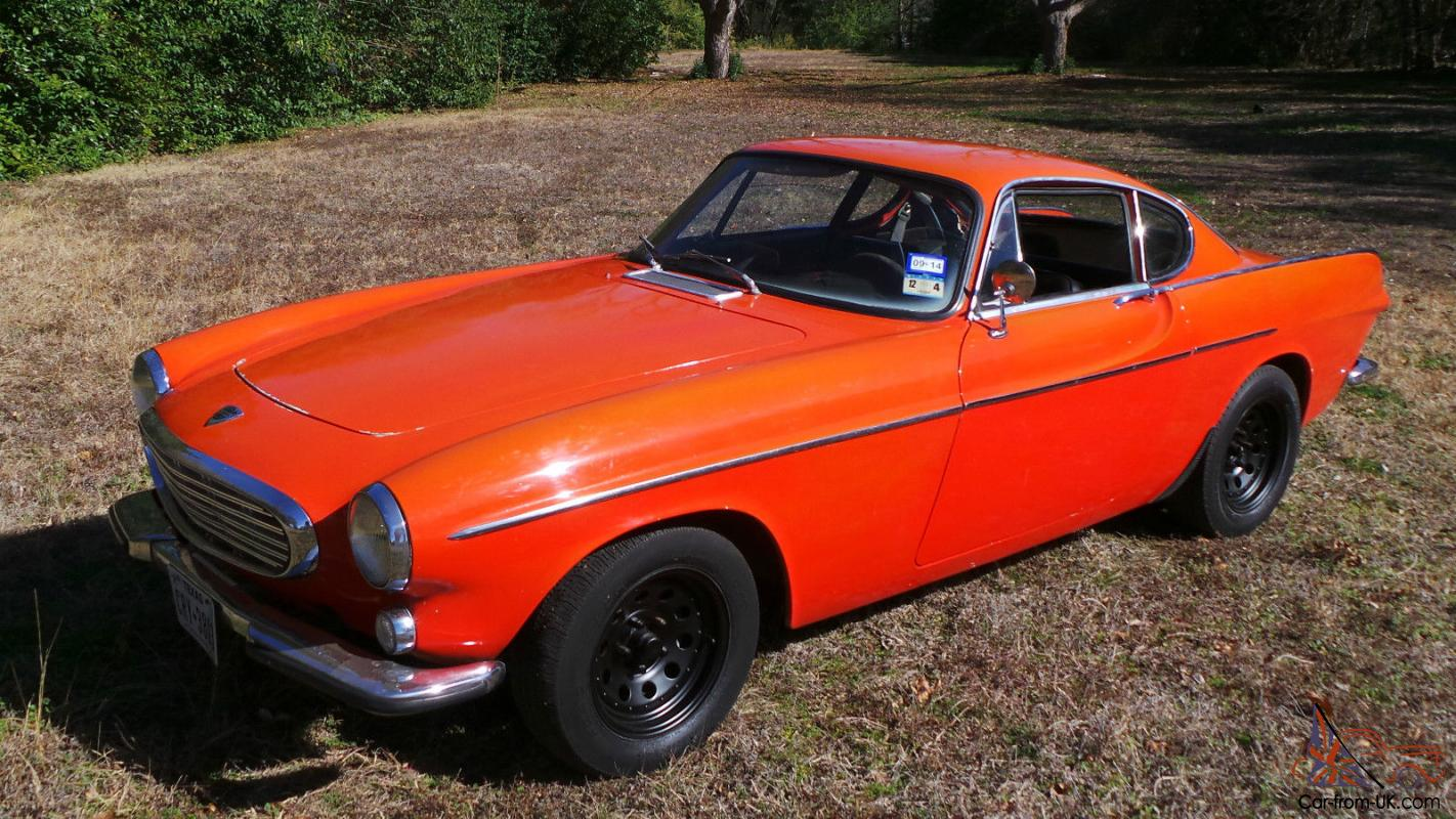 1967 VOLVO P1800 COUPE, NICE SOLID TEXAS CAR, 4 SD WITH OVER-DRIVE