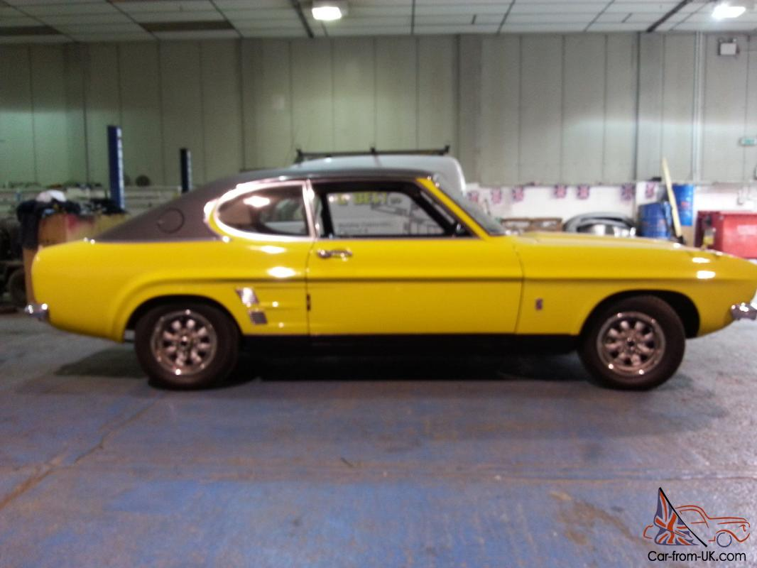 ford capri mk1 1600gt auto 57k miles from new. Black Bedroom Furniture Sets. Home Design Ideas