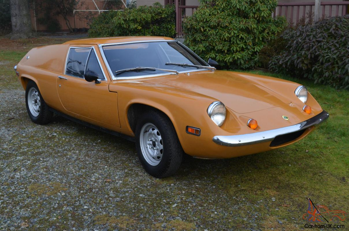 1970 Lotus Europa S2 Europe classic British sports car for sale
