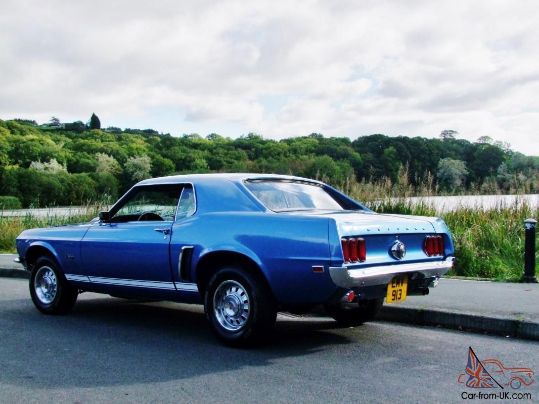 1969 ford mustang gt 390 coupe