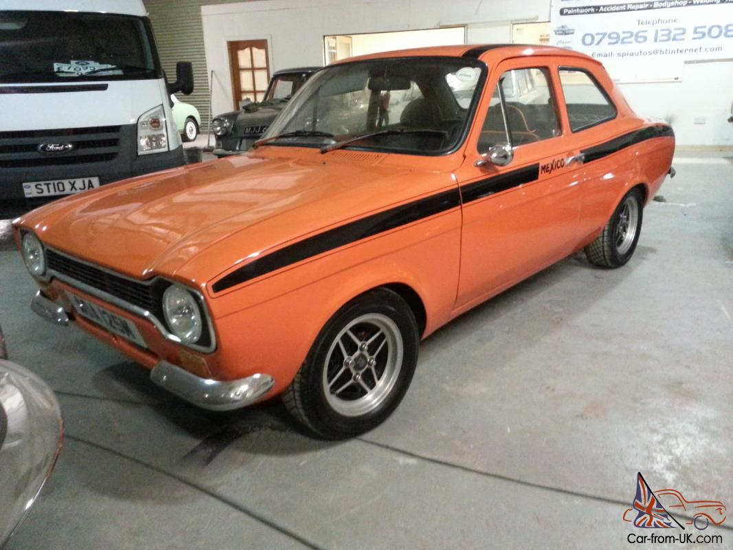 ford escort mk1 mexico replica rust free import. Black Bedroom Furniture Sets. Home Design Ideas