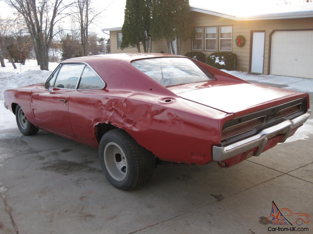 68 Dodge Chargers Project For Sale | Autos Post