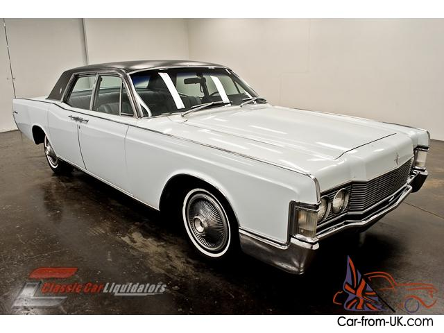 1968 Lincoln Continental 462 Automatic Ps Number Matching Pb Vinyl