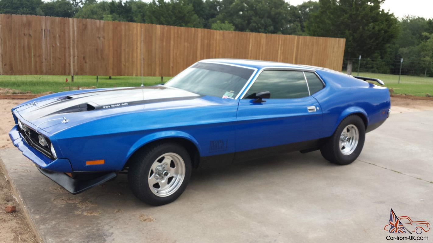 1971 ford mustang mach 1 for sale. Cars Review. Best American Auto & Cars Review