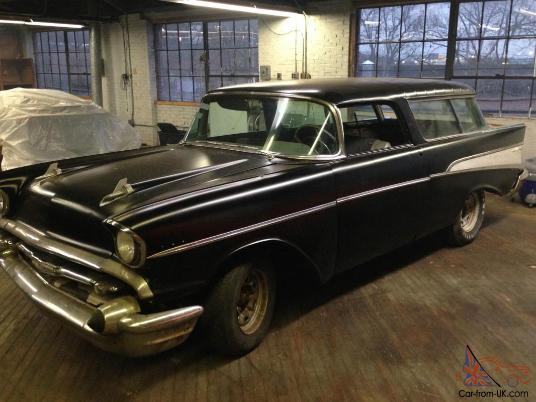 Chevrolet Bel Air Nomad Wagon Needs Restor Very Solid Car No Reserve 1957 Chevy Rare Photo