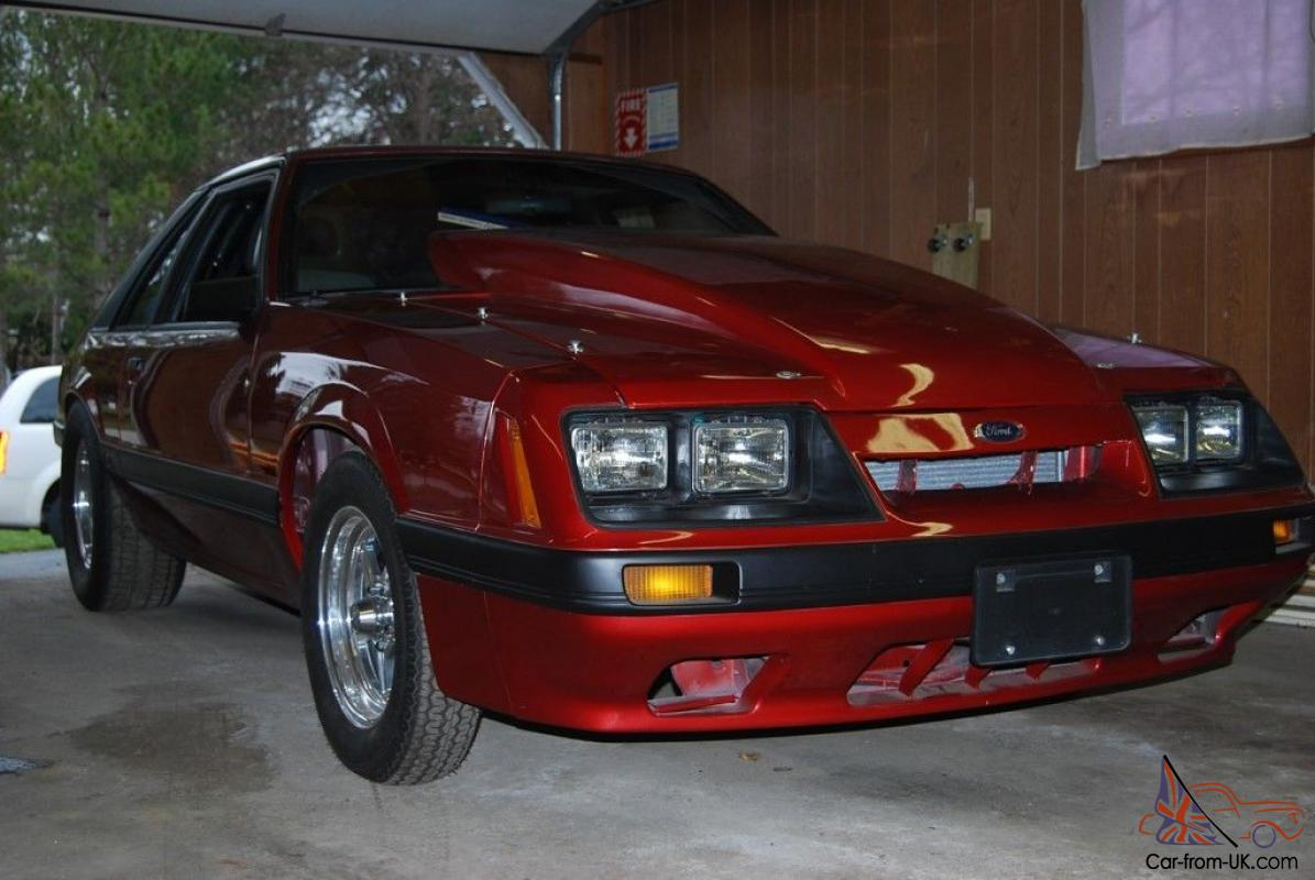 1986 ford mustang gt chevy 355 motor pro street 550 hp nitrous nos
