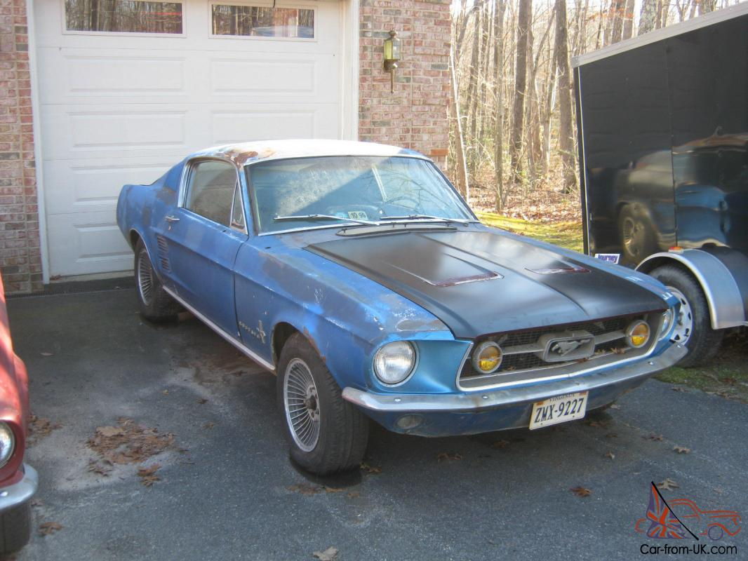 67 mustang project car for sale 1967 fastback mustang project car | find this mustang for sale on used mustangs for sale | classic ford mustang classifieds.