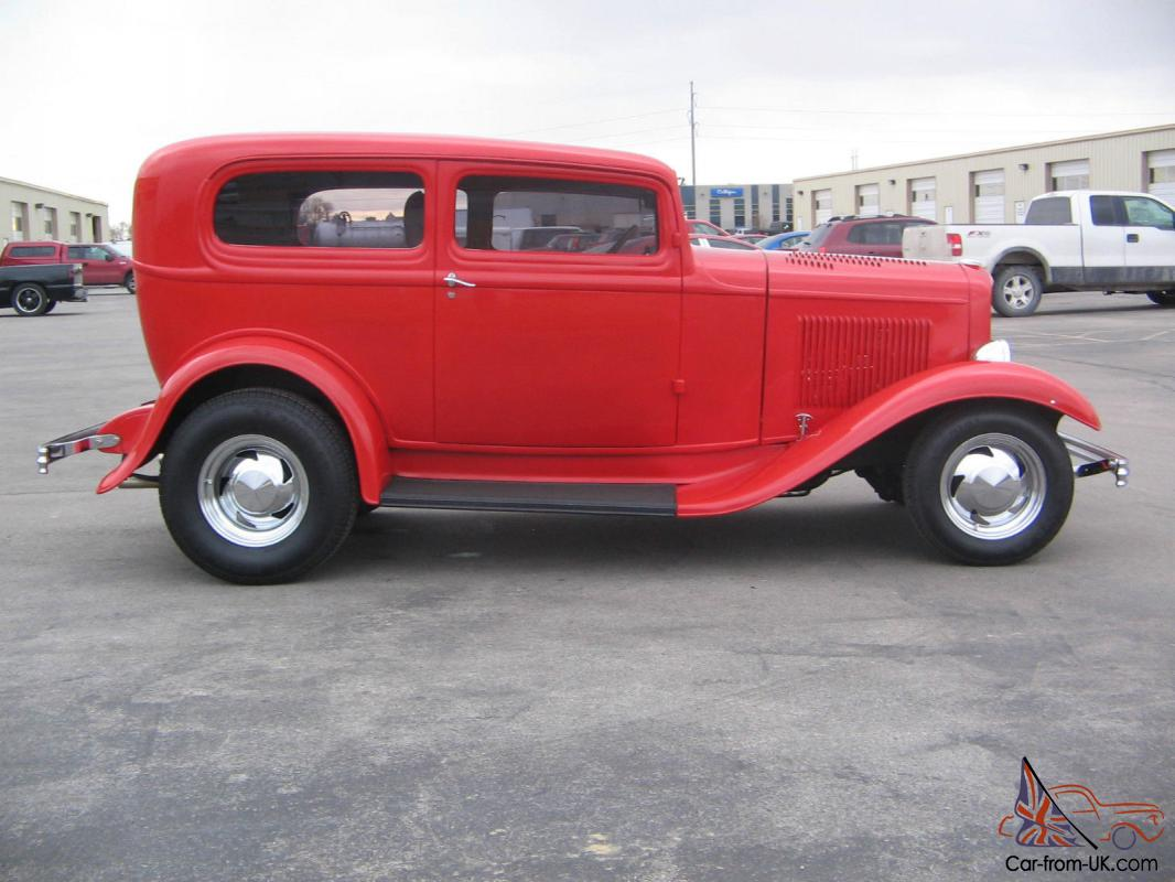 1932 ford all steel 2 door sedan