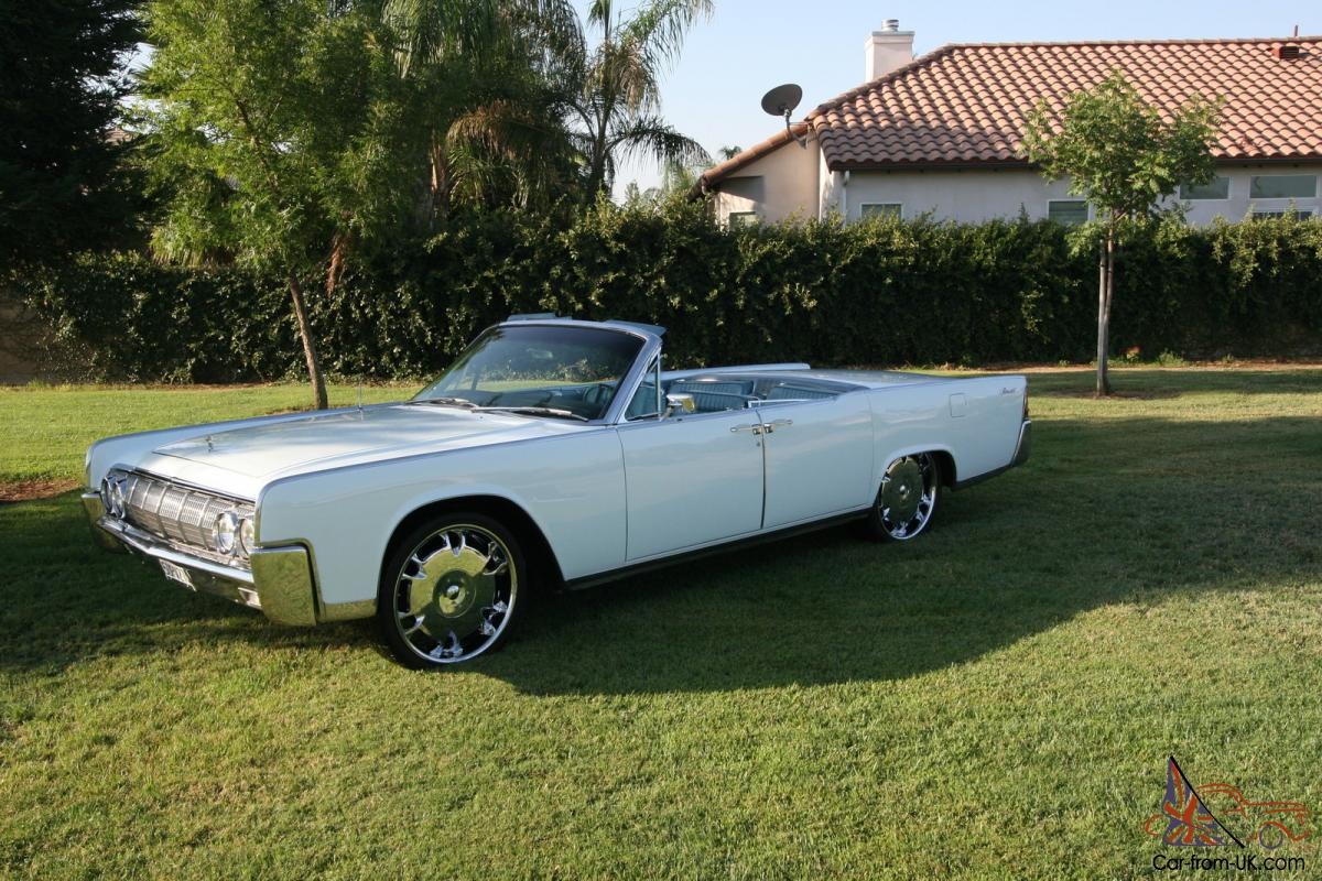 1964 lincoln continental convertible american classic car suicide doors. Black Bedroom Furniture Sets. Home Design Ideas