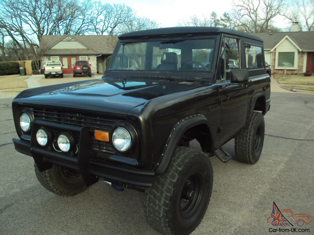 1967 lifted early classic ford bronco