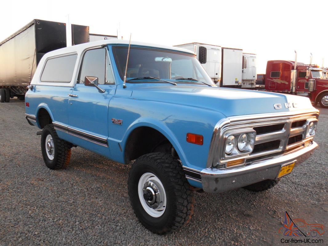 1972 gmc jimmy 4wd full convertible 4x4 new engine. Black Bedroom Furniture Sets. Home Design Ideas