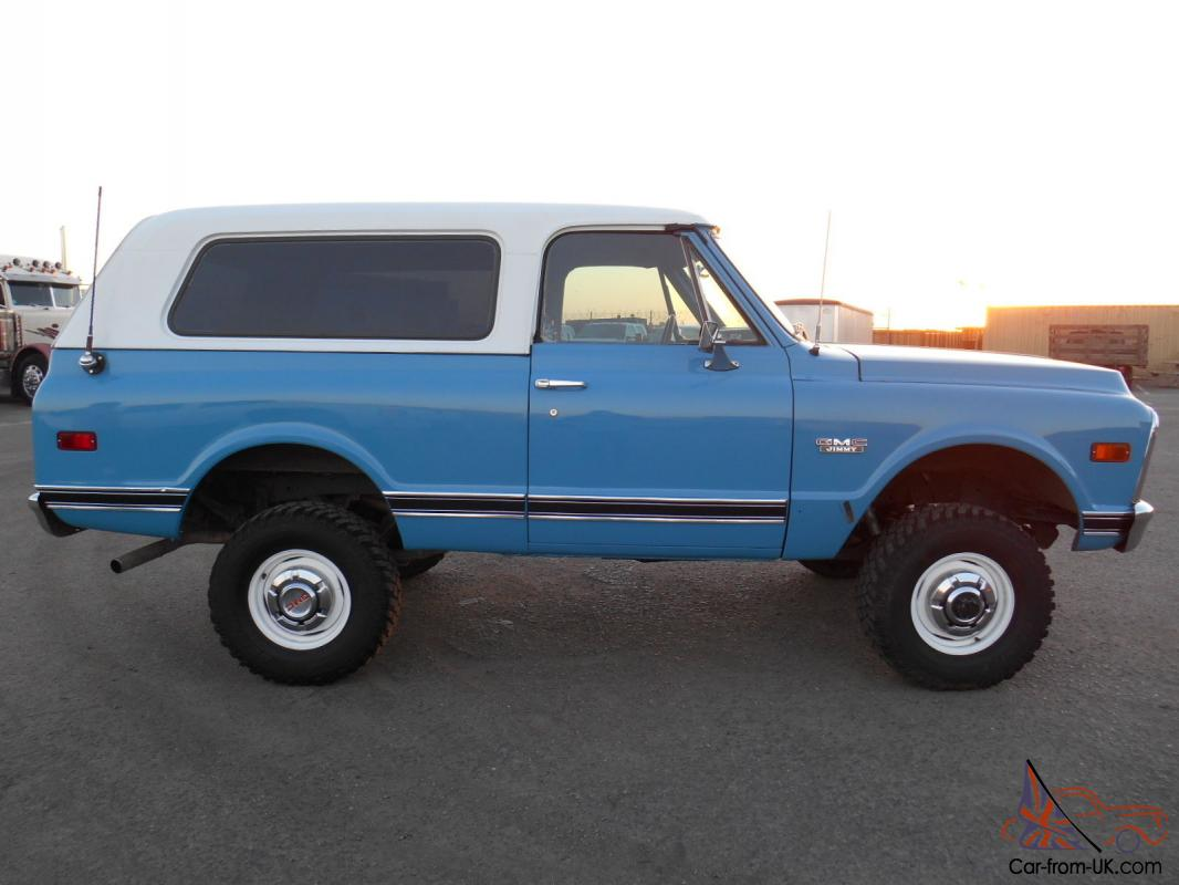 1972 gmc jimmy 4wd full convertible 4x4 new engine for Gmc motors for sale