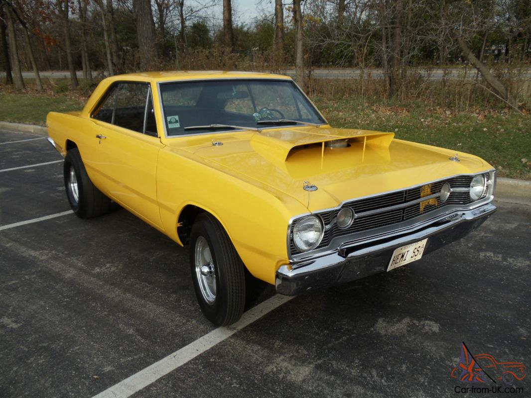 1968 LO23 HURST RACE HEMI DART TRIBUTE 426 HEMI, CROSSRAM,DANA 60, 4 SPEED,
