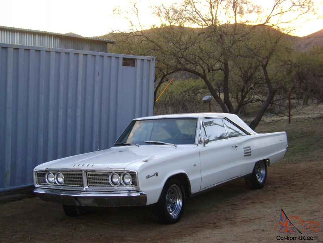 1966 Dodge Coronet 500 2 Door 318 Automatic Straight And Clean 1949