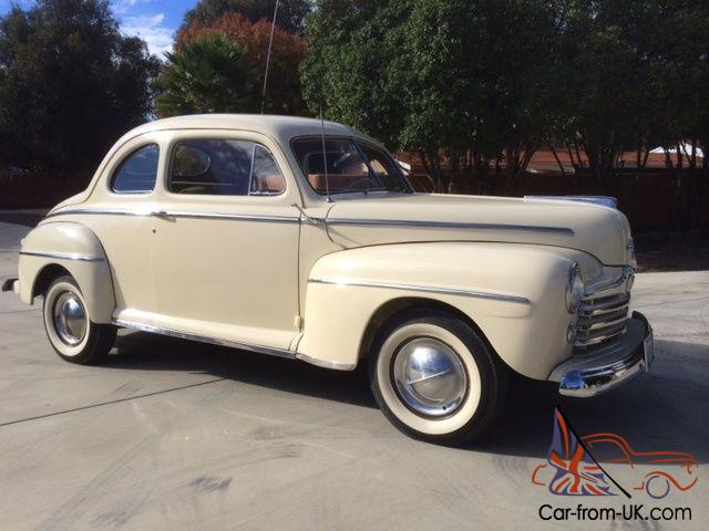 Original 1948 Ford Club Coupe
