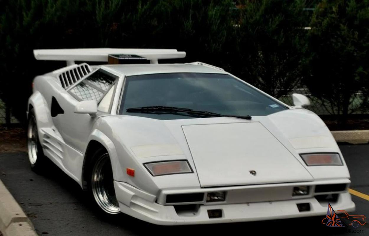Lamborghini Countach 25 Tha Anniversary Replica Kit Car V8