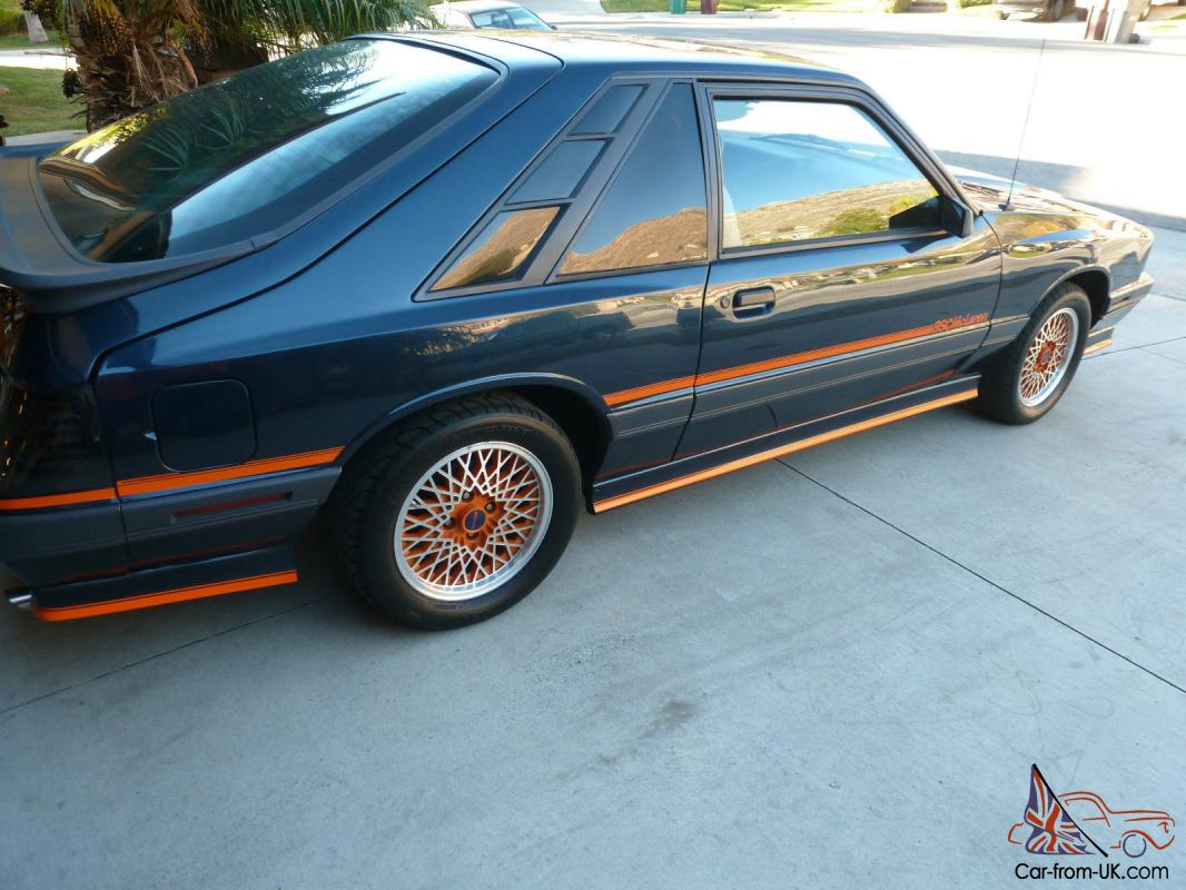 Car Paint Detector >> 1985 Mercury Capri ASC Mclaren Coupe