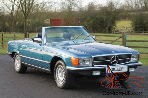 Mercedes benz 350 sl r107 restored 12 month warranty for Mercedes benz fixed price servicing costs
