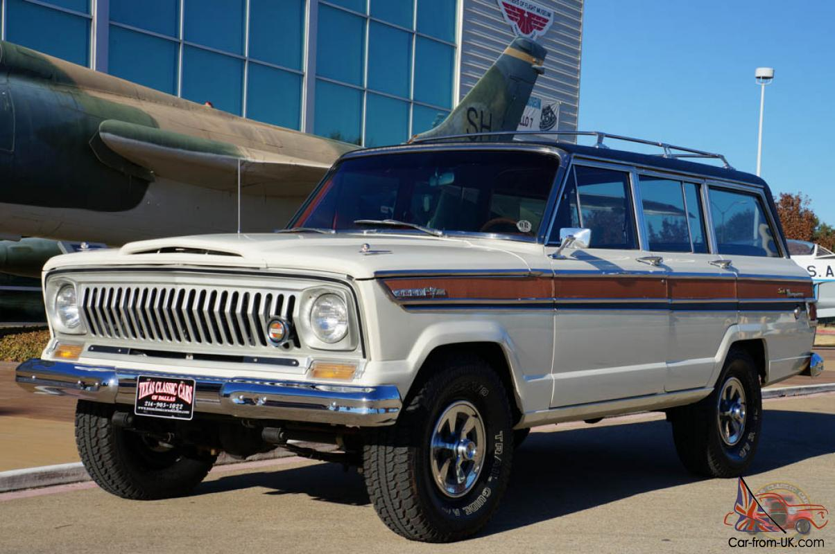 1968 Jeep Super Wagoneer Modified 350 V8