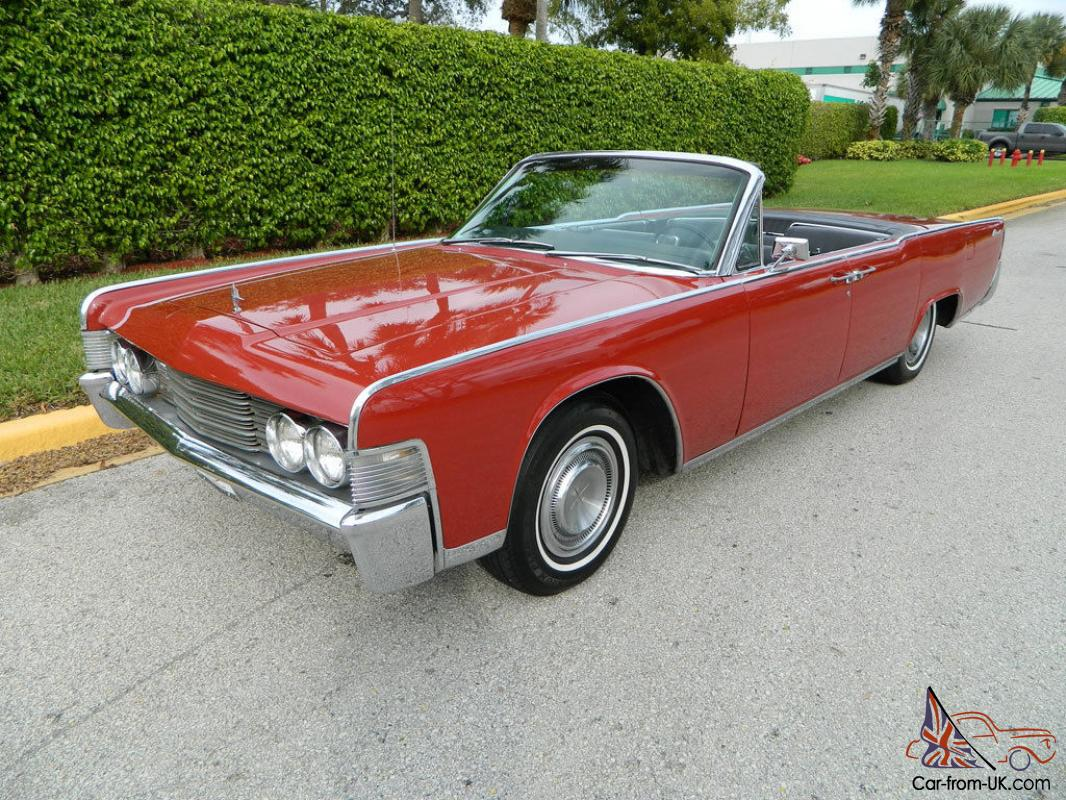 1965 lincoln continental convertible suicide door ice cold. Black Bedroom Furniture Sets. Home Design Ideas