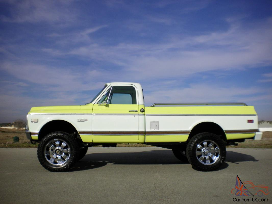1971 Chevy 4x4 Truck For Sale