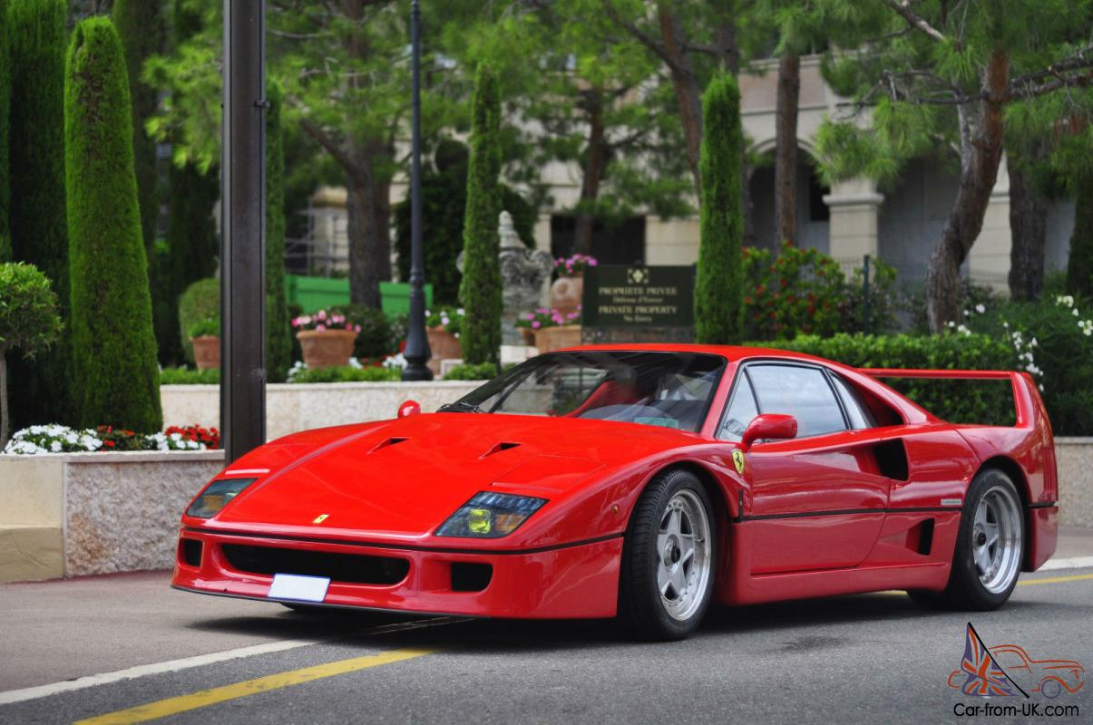 beautiful ferrari f40 for sale. Black Bedroom Furniture Sets. Home Design Ideas
