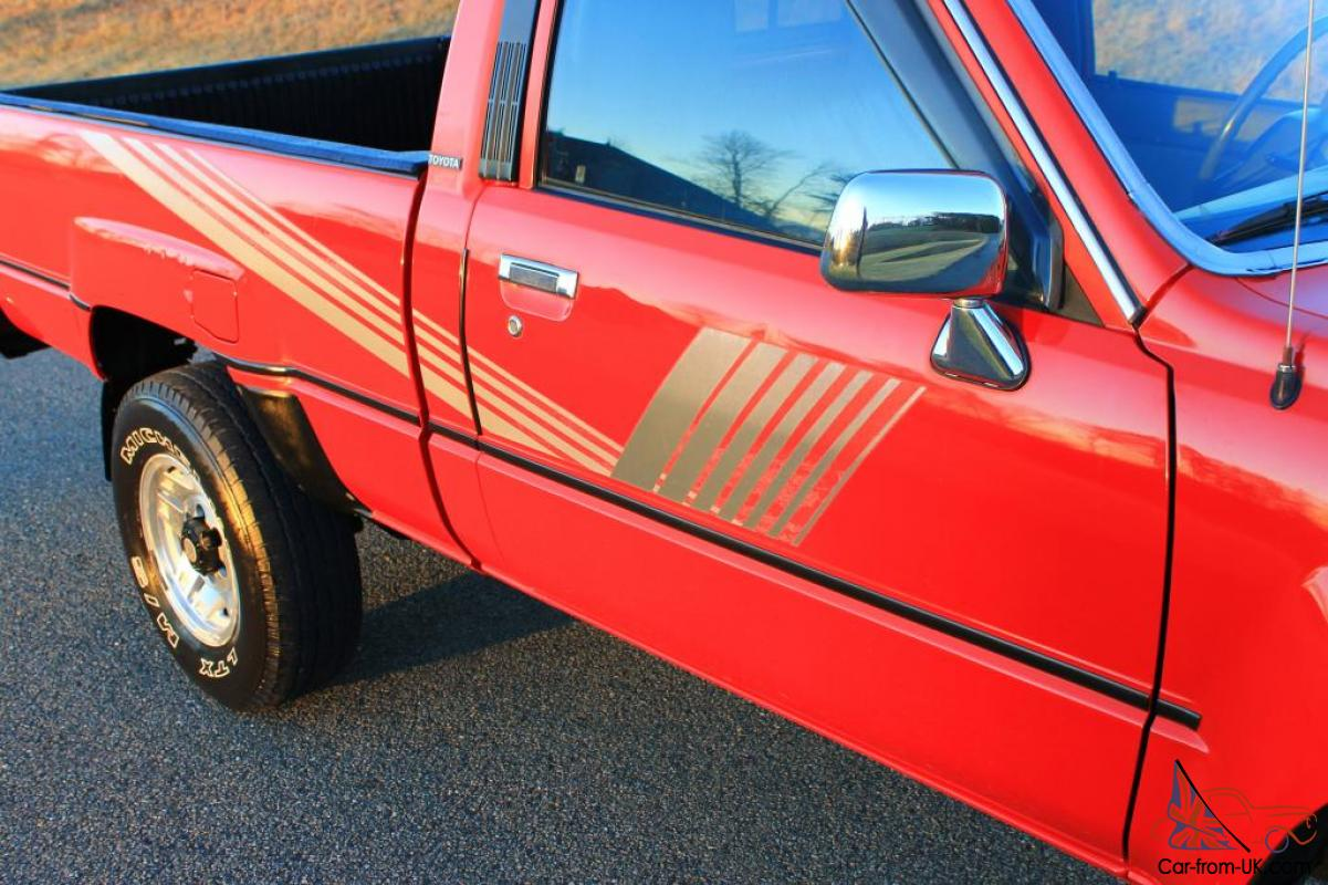 Most Reliable Truck Ever >> 87' TOYOTA 4x4 PICKUP**22R**A/C!!! **FREE SHIPPING**TIME ...