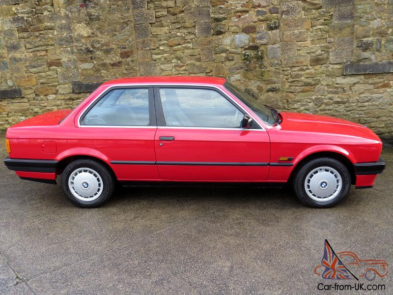 1988 Bmw E30 316i 2 Door One Owner Just 27 000 Miles