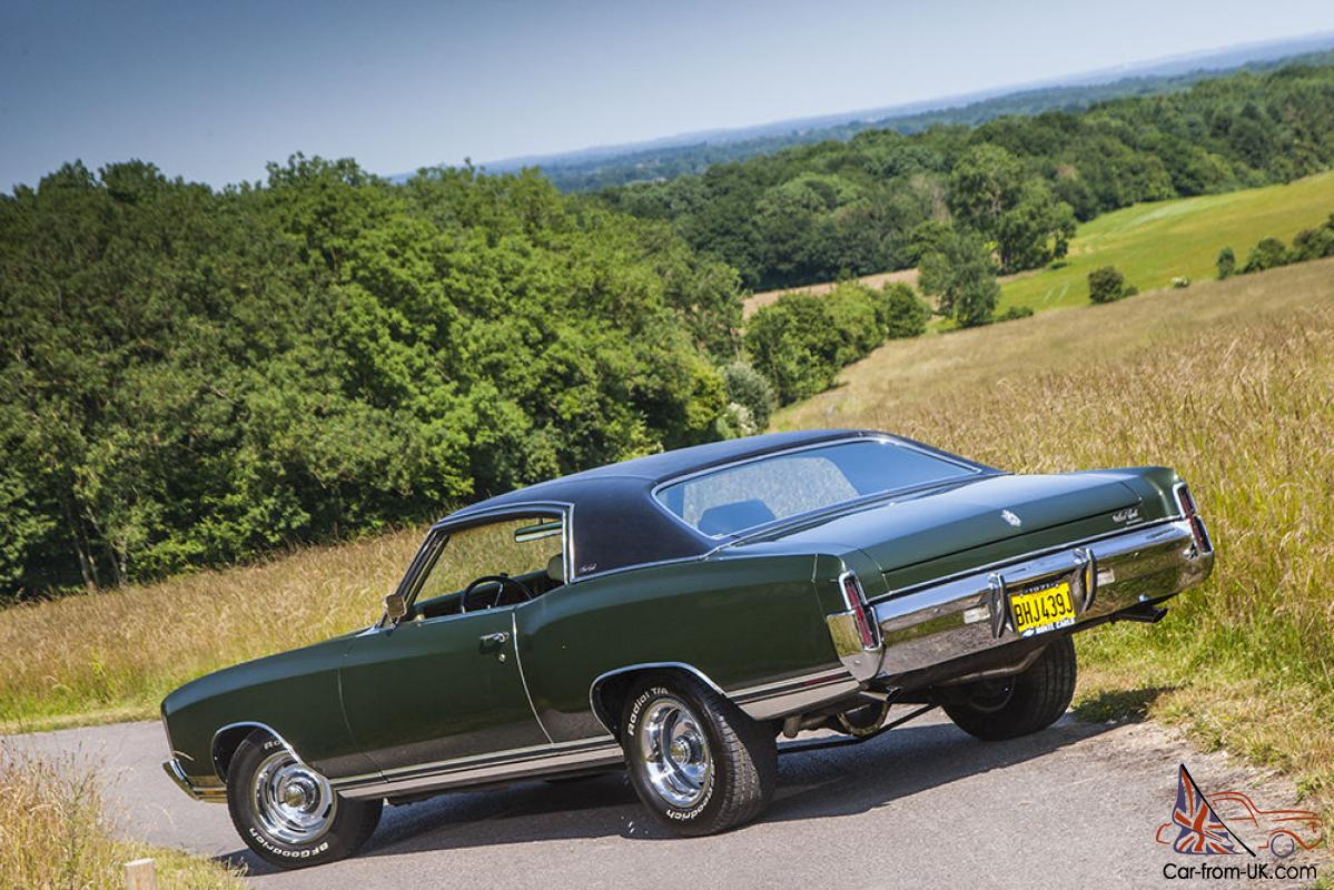 immaculate 71 chevy monte carlo 402 big block. Black Bedroom Furniture Sets. Home Design Ideas