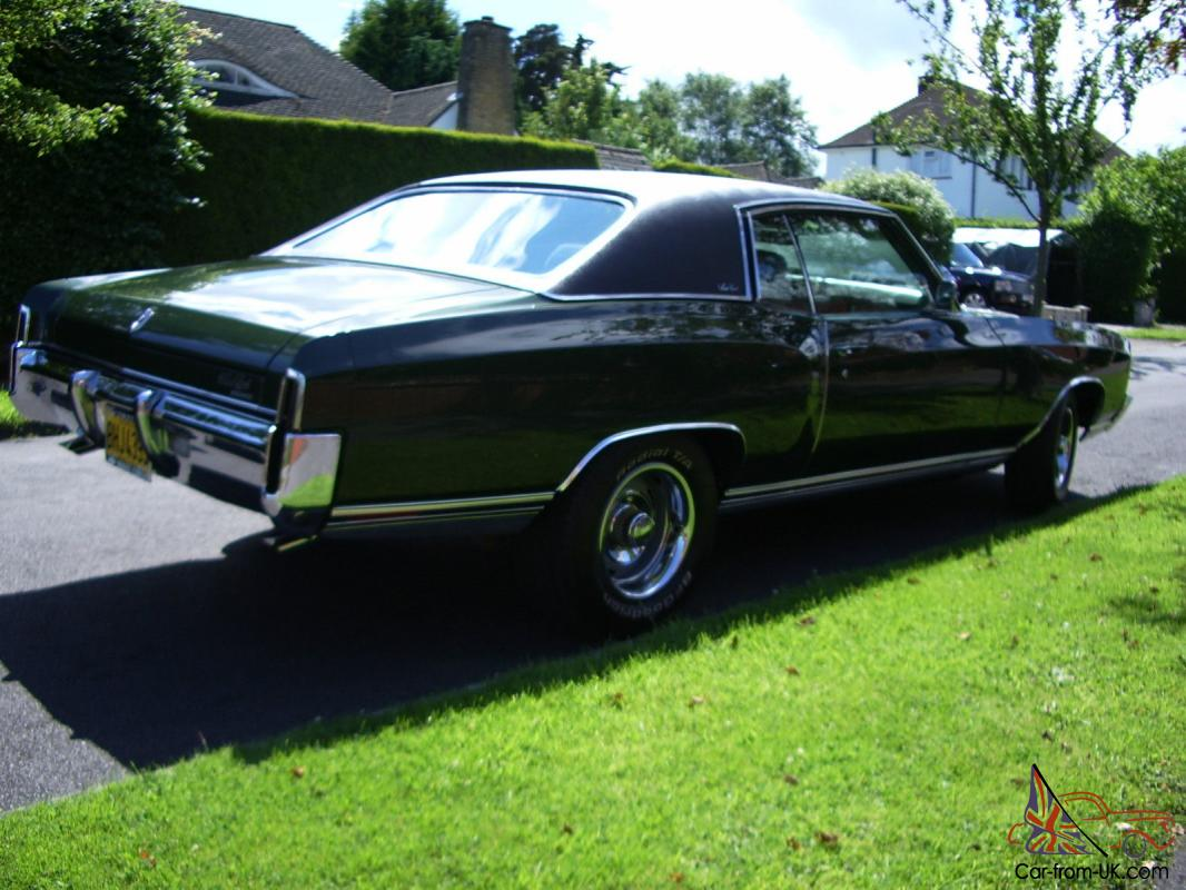 Immaculate 71 Chevy Monte Carlo 402 Big Block