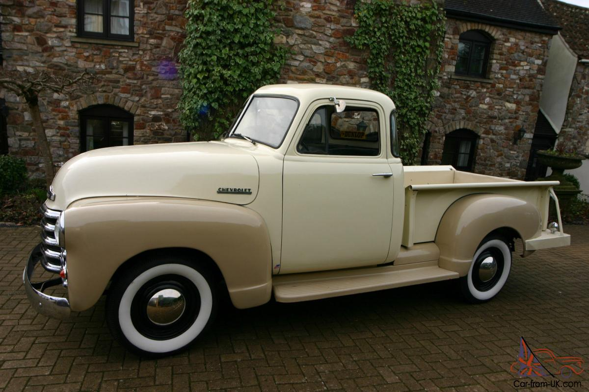 Chevy 3100 Stepside 5 Window Pickup 1951 Show Condition 1949 Truck