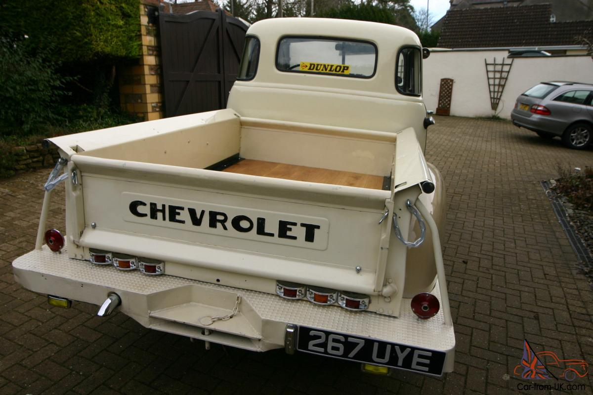 Chevy 3100 Stepside 5 Window Pickup 1951 Show Condition Old Truck Tailgates