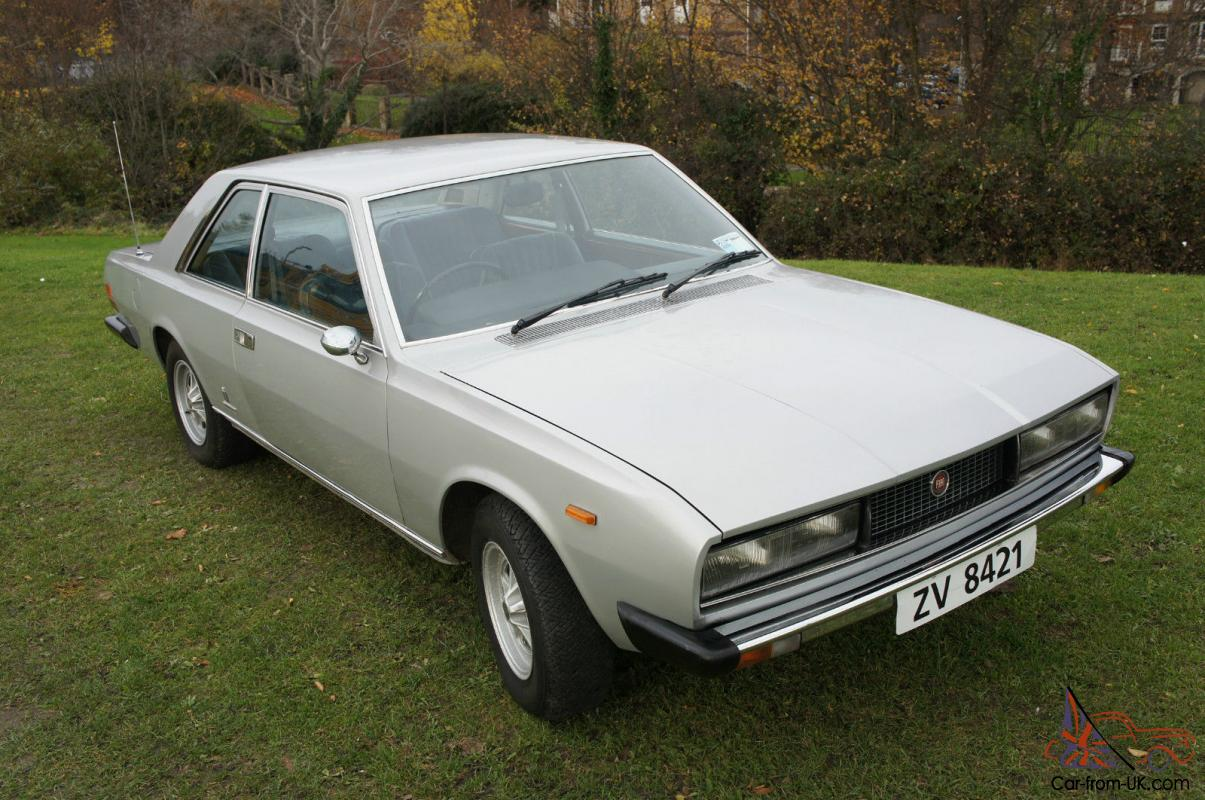 Automatic Cars For Sale Ebay Uk: 1973 FIAT 130 AUTO 29,000 MILES