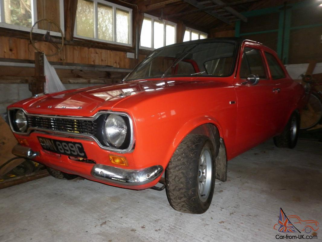 Ford escort mk1 1600 gt restoration project