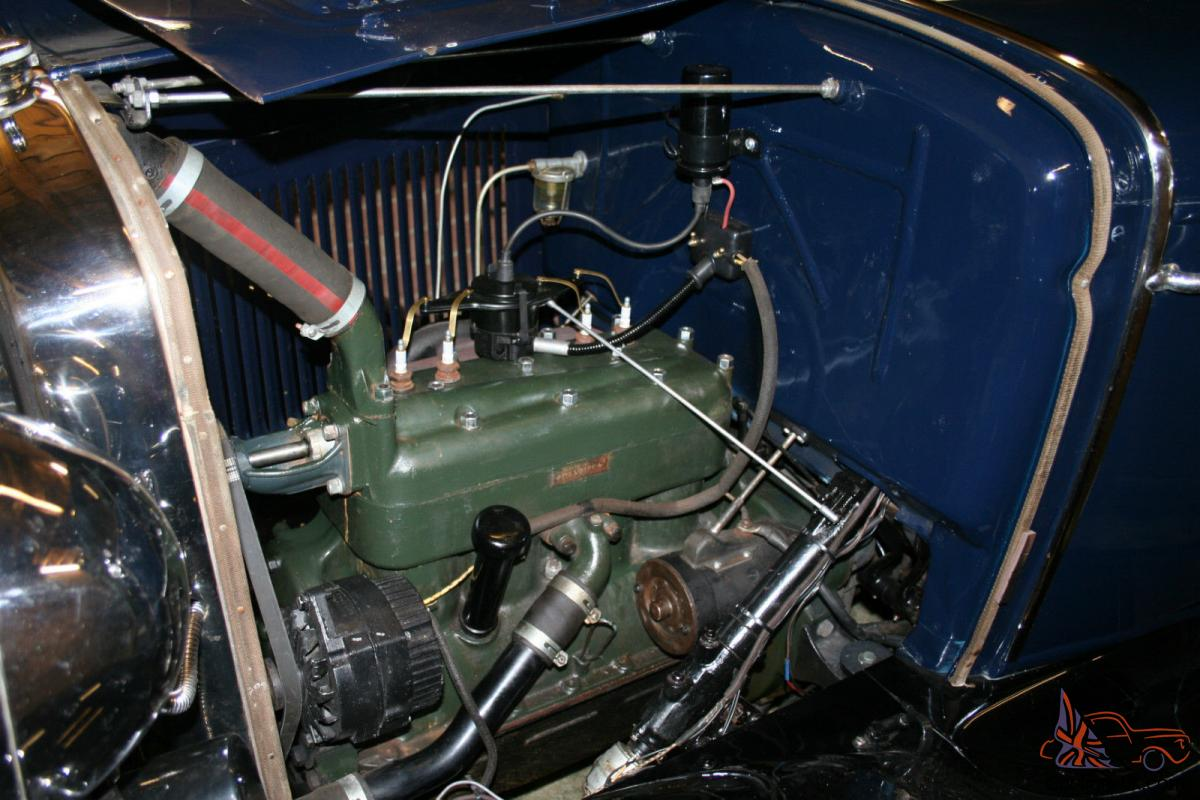 1930 Ford Model A Coupe Electrical Wiring