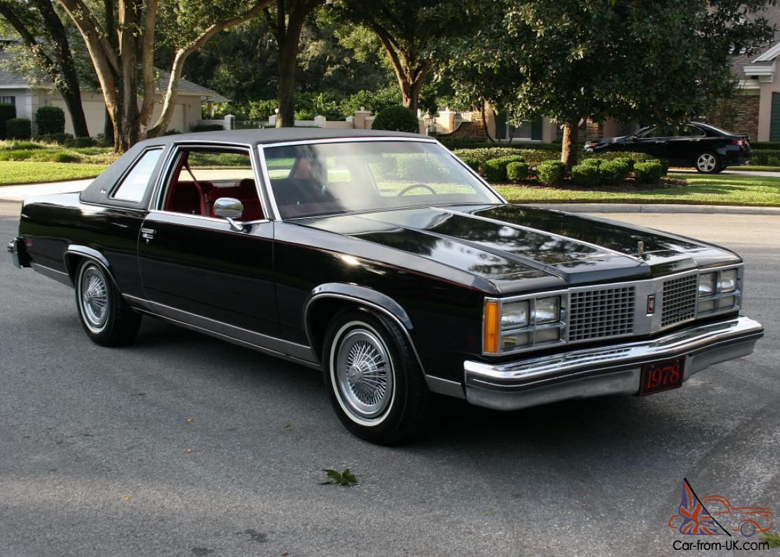 GORGEOUS TWO OWNER LUXURY CLASSIC -1978 Oldsmobile 98 ...
