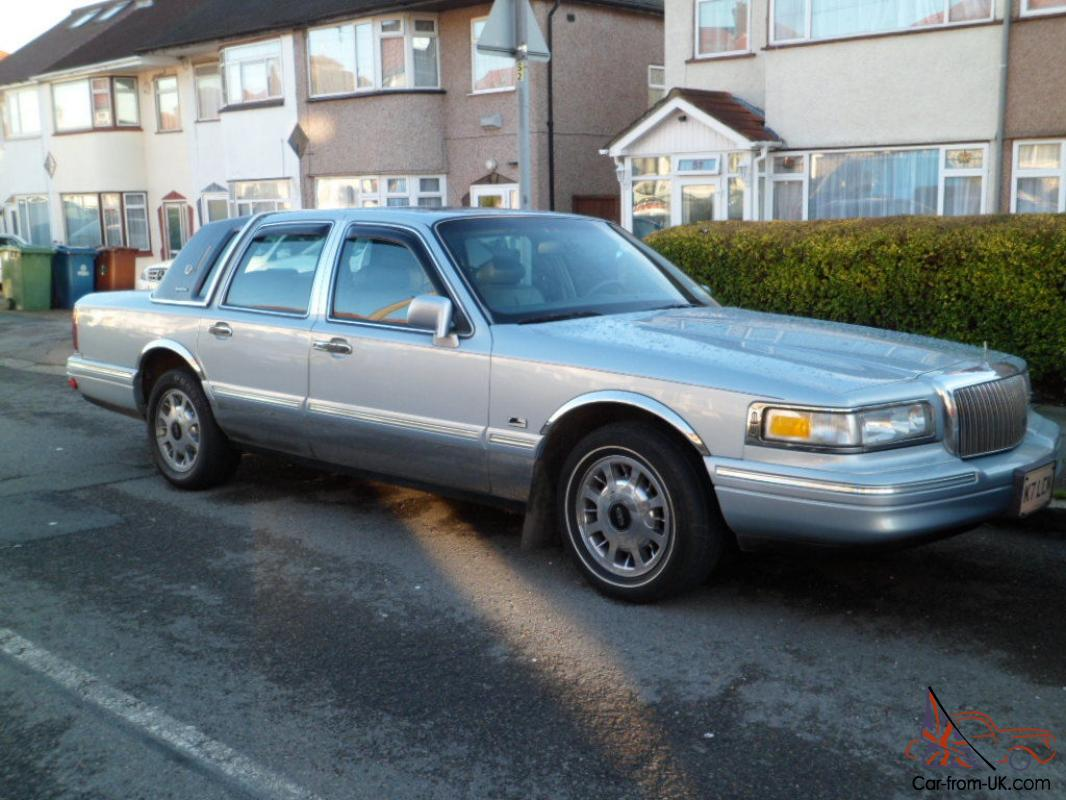 1997 Lincoln Town Car Lpg Gas Converted Blue Excellent Car London