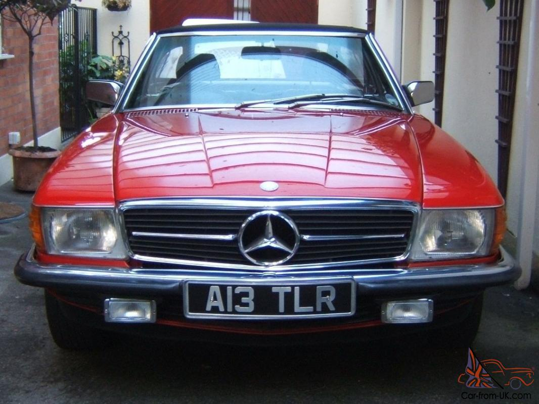 sold 1984 mercedes 380 sl auto only 59 000 miles stunning condition. Black Bedroom Furniture Sets. Home Design Ideas