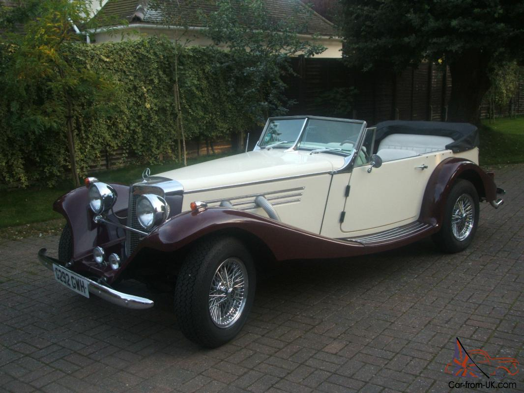40\'s Mercedes Baron Replica