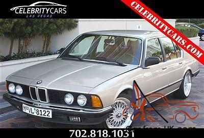 1987 bmw 735i sedan e32 very well maintained las vegas trades welcome. Black Bedroom Furniture Sets. Home Design Ideas