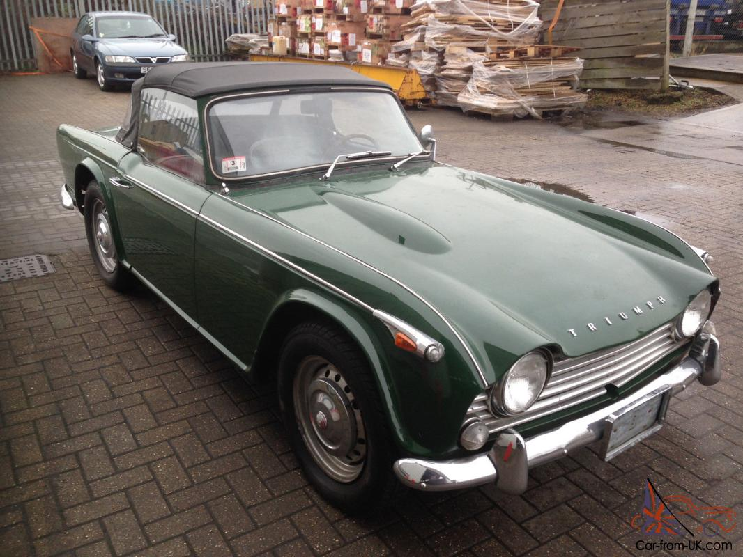 Triumph Tr4a Irs 1966 Barn Find With A Difference Great Car Uk