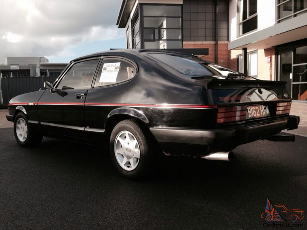 1985 ford capri injection special black 90k taxed and. Black Bedroom Furniture Sets. Home Design Ideas