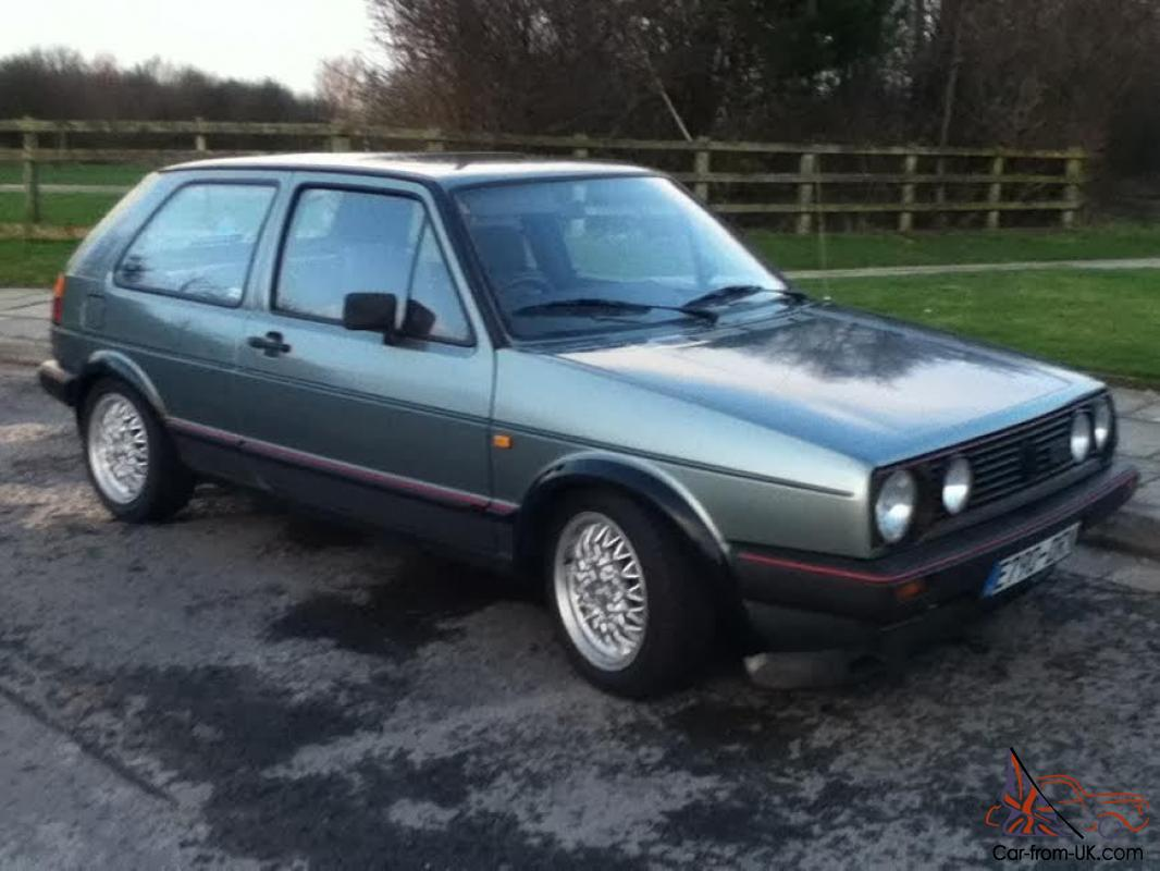 vw golf gti mk2 fsh and only 84 000 miles. Black Bedroom Furniture Sets. Home Design Ideas